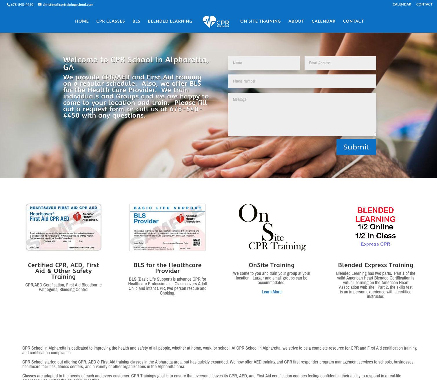 Home Cpr Websites